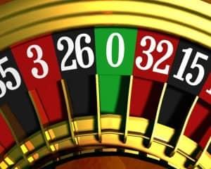 De enkele nul bij roulette