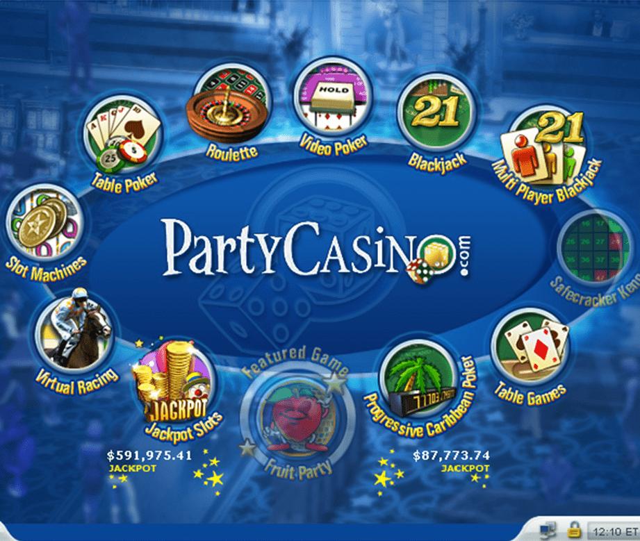 www partycasino com
