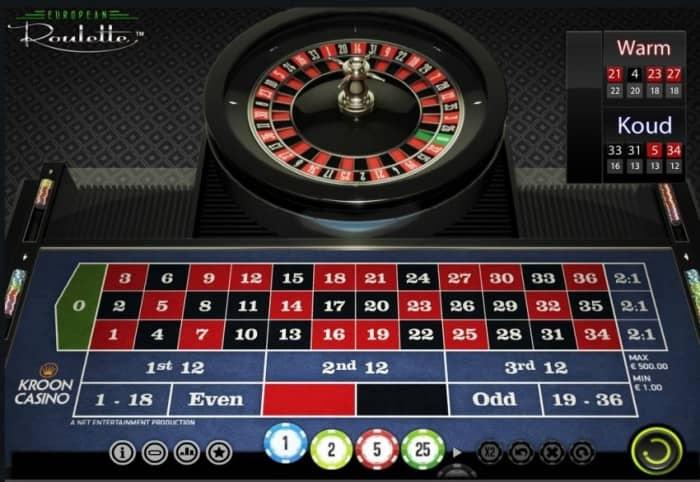 Sistema modena roulette