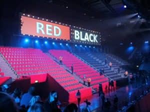 red or black spel show