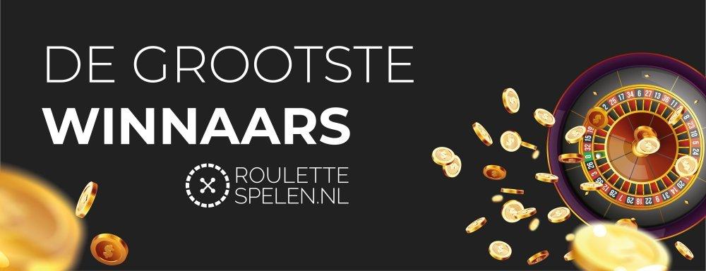 roulette-spelen.nl de grootste winnaars bij roulette